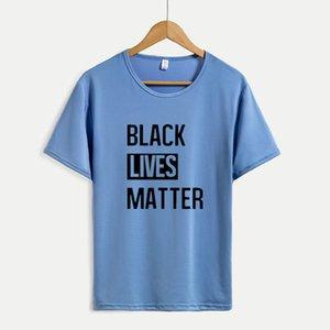 Womens Resist T Shirt 2020 Nero Movimento per i diritti Tees nero del commercio all'ingrosso Abita questioni lettere supera per ragazze i vestiti che esegue Active