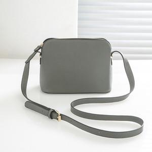marka tasarımcısı Kadın çanta Shell Omuz Çantası Crossbody Moda Küçük Messenger Çanta Çantalar PU Deri 9 renk
