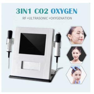 1 개 산소 CO2 버블 OxygenationTherapy RF 얼굴 Lifing 슈퍼 얼굴 기계 다기능 Portable3