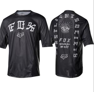 20 zorro bicicleta de montaña DEMO TLD Cabeza jerseys traje de montar MTB camisetas de camisetas de motocross