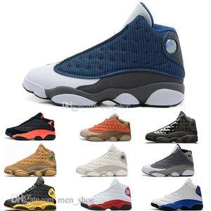 Trasporto di goccia 13 13s Cap & Gown Terracotta Blush Mens scarpe da basket Cat nero a infrarossi Flints allevati Sport scarpe da ginnastica del progettista EUR36-47
