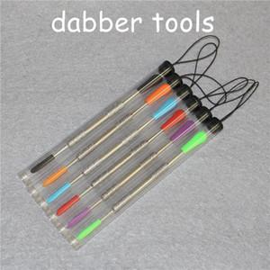 أدوات الشمع dabber البخاخة المقاوم للصدأ 120 ملليمتر التدخين dab أداة ل عشب جاف التيتانيوم مسمار ل vape القلم سيليكون حصيرة حاوية