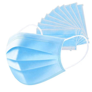 In stock free shipping 3ply Disposable Protective Face Mask for children Ear-loop Dust Mouth Masks Cover