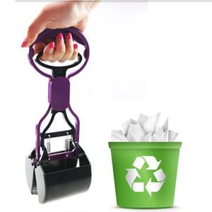 déchets chien chat pratique pooper scooper produits accessoires merde animaux nettoyant propre merde scoop pour les outils de nettoyage pour chiens chats