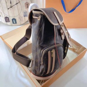 The new ladies backpack 7A high-end custom quality diagonal cross bag fashion trend leisure style exquisite workmanship practicality is extr