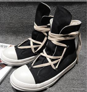 Hot Sale-Original-TPU Fragrant Sohle Erdeton Vegan hoch oben echten Canvas-Sneaker Trainer Stiefel