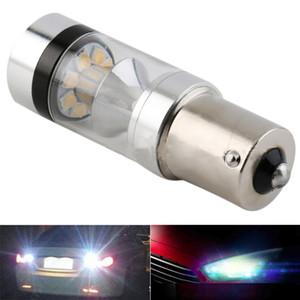 CAR 100W 1156 LED Lampes de secours voiture inversée Ampoule lampe Tourner feux arrière Hight Puissance 1157