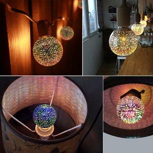 Завод оптовой Новые светодиодные лампы E27 Creative 3D Fireworks Декоративные Edison лампы 110V-220V Праздник Новогоднее украшение