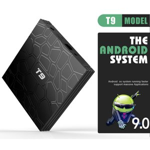 T9 androide 9,0 TV CAJA RK3318 de cuatro núcleos de 2 GB / 16 GB 4 GB / 32 GB 4 GB / 64 GB 2.4G / 5GWIFIBT HDMIUSB3.0 H.265 smart set top box sw
