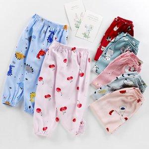pantaloni anti-zanzara bambino bloomers dei ragazzi cotone di seta per bambini lungo delle ragazze dei pantaloni di seta cotone aria respirabile condizionata