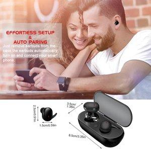 Y30 Bluetooth kulaklık TWS4 Bluetooth kulaklık kablosuz Bluetooth 5.0 dokunmatik dokunmatik kulakiçi kulaklıkları