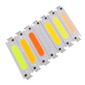 12V 2W COB Chip Işık Kaynağı DIY Işıklar LED Lamba Aydınlatma armatürleri COB Lambası LED Chip Modülü Ampul Şerit uyar