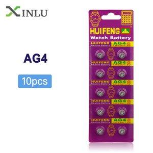 Baterias botão baterias 10pcs / lot AG4 377A 377 LR626 626SW 66 LR66 botão bateria de célula tipo moeda Pilhas SR626SW SR66 AG4