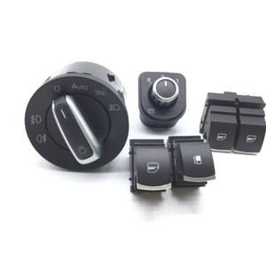 ZH-065 5K3959857 1KD959833 5ND941431B Window Mirror Headlight Fuel Tank Switch For VW Passat B6 Golf MK5 V 6 R32 GTI MK5 Rabbit Tiguan