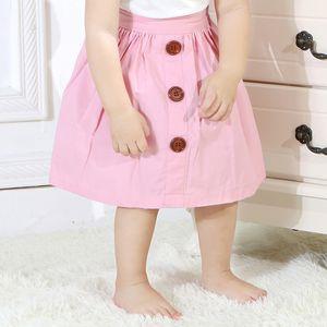 Gonna a tinta unita per bambini Abbigliamento da bambino per bambini Bambina multicolor A gonna decorata con un vestito principessa 19