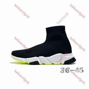 Конструктор кроссовки Speed трейнер Black Red гипсофила hococal Тройной черный Мода плоский носок ботинок Повседневная обувь Speed Trainer Runner