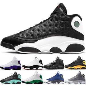 Nike Air Jordan 13 Retro Мужчины Баскетбольные кроссовки Атмосфера Серые кепка и платье Он получил игру Phantom Дизайнерские кроссовки Спортивные кроссовки оптом