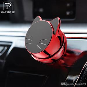 Universal Car Phone Holder 360 gradi GPS Magnetic Phone Holder mobile per iPhone X di Samsung del supporto del magnete supporto del basamento