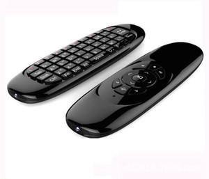 Gyroscope Fly Air Mouse C120 Wireless-Spiel-Tastatur Android-Fernbedienung wiederaufladbare Tastatur für Smart TV Mini-PC