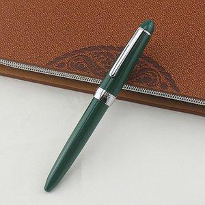 Чрезвычайно Прекрасные Перьевые Ручки Army Green Office Финансовый Совет 0.38 / 0.5 / 0.8 / 1.0MM Nib Pen Письменные Инструменты Поставки