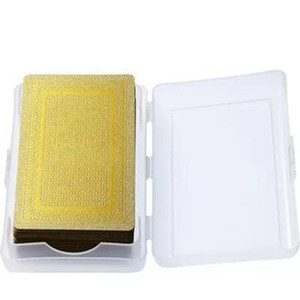 2pcs lot FW13 Sup Gold Deck of Cards Poker Playing Cards