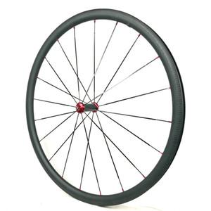 딤플 브레이크 suface 전면 대칭 바퀴 타고 균형을 향상시키기위한 후면 비대칭 탄소 바퀴 25 * 30mm