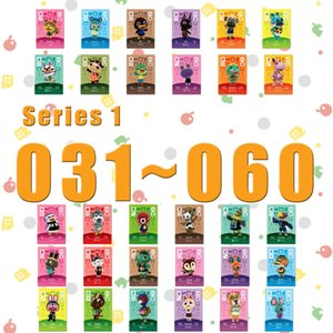Animal Crossing Card Amiibo Printed NFC Card Compatible Pick from the List Series 1 (031 to 060)