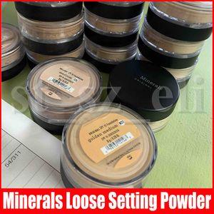 Gesicht Rahmen Loose Powder Ziemlich Medium Goldene Messe Minerals Foundation Medium Beige Tan Light Golden Wärme Ignite Weinlese-Pfirsich erröten 8g