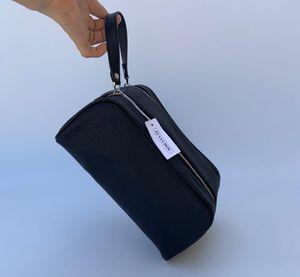 Melhores homens de qualidade venda viajam mulheres nécessaire moda lavar saco de grande capacidade de sacos de cosméticos de maquiagem bolsa de higiene Pouch 26CM