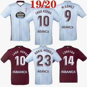 2019 2020 celta vigo fußball jersey nach außen iago aspas kinder maximiliano gomez sisto jonny camiseta de futbol jerseys 19 20 fusshirts