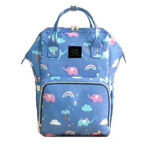 Land 26 colors Mommy Backpacks Nappies Bags Mother Maternity Diaper Backpack Large Volume Outdoor Travel Bags Organizer retail