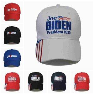 Joe Biden Baseball Hat 7 Styles American Election Adjustable Baseball Hats Outdoor Letter Embroidery President 2020 Party Hats ZZA2197