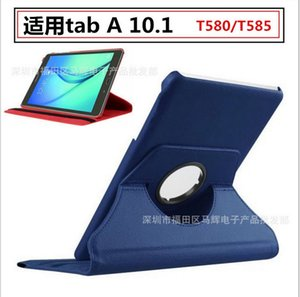 For Unverisal table A 10.1 Flip Cases Ipad Samsung T580 T585 Tablet Cover leather Rotating Stand Holder Cover case