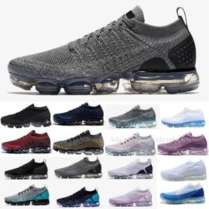 Nike Vapormax vapor air max 2020 Nuevo 2.0 Triple blanco negro Vapores Airs Mujeres zapatillas Zapatillas deportivas Diseñadores de zapatillas Zapatillas de deporte Tamaño EUR36-45