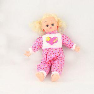 الصين صنع دمية من البلاستيك نموذج محاكاة لعب الأطفال مليئة PP الوسائل التعليمية القطن لمرافقة النوم