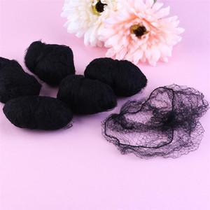 Сетки для волос Парики Невидимый Упругие Край сетки для укладки волос Hairnet Мягкие линии для танцев Спортивные волос Чистая парики Плетение