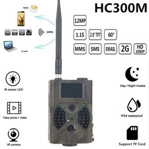 게임 사냥 WildCamera 사진 - 트랩 사진 샤쓰 사냥꾼 캠 사냥 카메라 hc300m의 HC300A의 12MP 야간 사냥 카메라 MMS