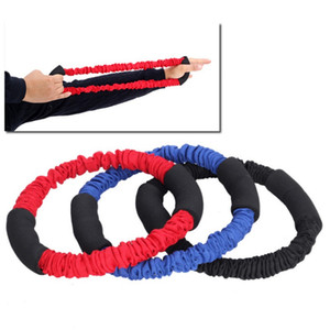 Archery Hand Extensor Exerciser Arm Strength Trainer Finger Strength Resistance Bands Pull Bow Workout Equipment