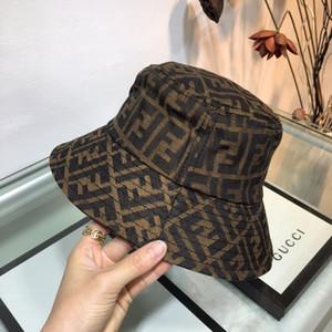 Männer Frauen Designer-Hut Luxus Fisher Hut Marke Cap Modedesigner Hat FF Brief Snapback Cap Adjustable im Freien Hut 2020677K
