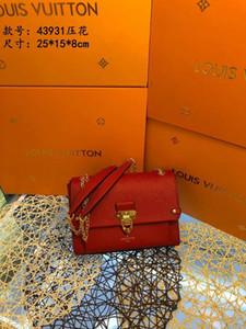 Lumineux et la conception de verrouillage accrocheur nouveau haut de gamme pour femmes mode sac à bandoulière unique 022004