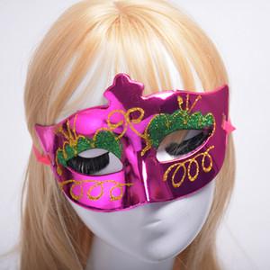 Гальваническая живопись с тенями для век красота party performance party masks birthday show items бабочка половина лица декоративная маска MJ004