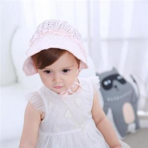 Douce dentelle Princesse Toque infantile Chapeau pour bébé Accessoires Cadeaux 2020 Mode Bébé Chapeau Enfants Mesh évider Cap