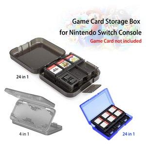 24 en 14-en-1 Nin cas des cartes de jeu portable de cas antichocs Shell dur de protection Boîte de rangement pour Nin commutateur