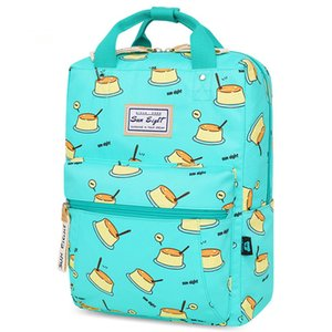 Cartoon candy color children schoolbag grades school bag backpack burdens ultralight waterproof nylon students travel book bags handbag