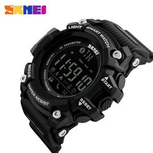 Orologi Multifunzione fitness SKMEI sport esterno di smart uomini della vigilanza di Bluetooth 5bar digitale impermeabile Guarda Reloj hombre 1227/1384