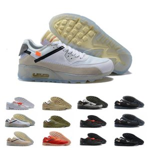 2020 90 para mujer para hombre Zapatos de lanzamiento aéreo de diseño Virgilio Copa del Mundo Triple negro blanco rojo zapatillas de los 90 entrenadores deportivos Zapatos Chaussures