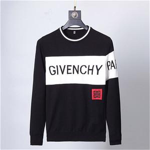 Pullover für Männer Frauen Herbst Marke Strickjacke Mäntel mit Buchstaben-Muster-Mode-Männer Pullover Tops Kleidung Top Männer Pullover