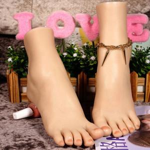 21 * 15 * 7 cm 36 yard simulazione del piede modello calze del piede in silicone Popolari Puntelli Piede Mannequin Insegnamento medico Scienza medica 1 PZ D066