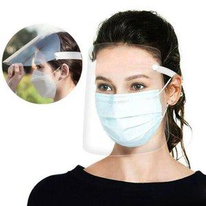Trasparente regolabile Full Face Shield plastica anti-nebbia della mascherina protettiva trasparente regolabile fronte pieno Shield plastica anti-fog protezione