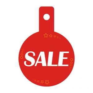 balanço cabide de roupas Venda Bilhetes de preços cabides tag vendas etiquetas impressas cartões de papel promocionais corredor sinais prateleira falador